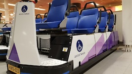 Cargolev Vehicle Passengers with Reduced Mobility Schiphol Airport