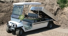 Club Car Carryall 6 met kipper